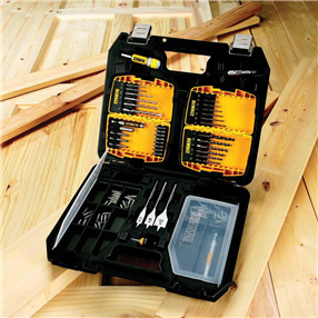 90 Piece Drill & Driver Bit Box (Carry Case)
