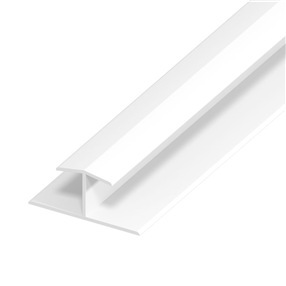 Cladding Joint Trim in White x 5m