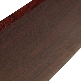 400mm Utility Board in Rosewood Foil x 5m