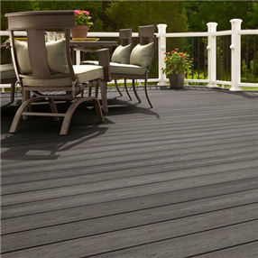 Grooved Edge Decking Board x 3.66m in Earl Grey