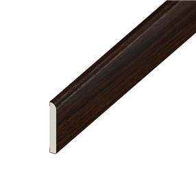 95mm x 6mm Pencil Round Flat Architrave in Rosewood x 5m