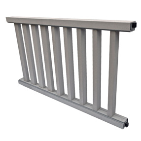 Railing Kit in Salt Lake Silver