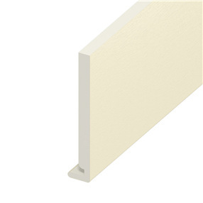175mm x 18mm Fascia Board in Cream x 5m