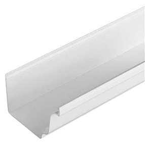 System Plus Gutter in White x 4m