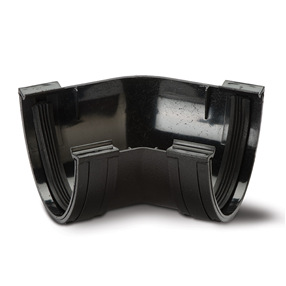 Polyflow Cast Iron Effect 135° Angle in Black