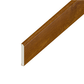 95mm x 6mm Pencil Round Flat Architrave in Golden Oak x 5m