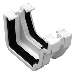 Square Plus To Square Adaptor Right Hand in White