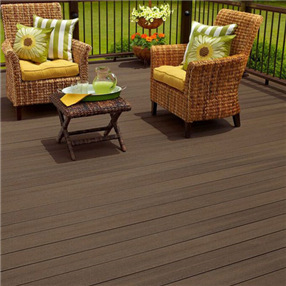Square Edge Decking Board x 2.44m in Expresso