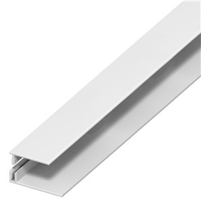 30mm Panel Trim 2 Part in White x 5m