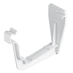 System Plus Fascia Bracket in White