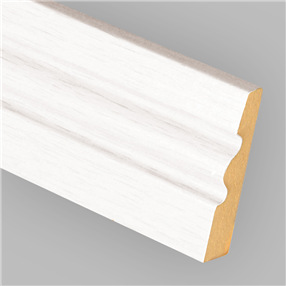 Ogee Skirting Board in White x 4.25m