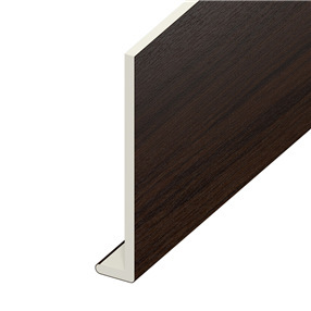 200mm Capping Board in Rosewood on White x 5m
