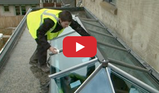 lantern roof installation video